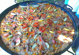 Chicken & Chorizo Paella