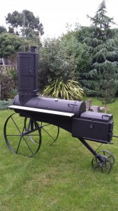 A Our New Smoker
